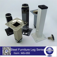high quanlity square iron sofa leg,classical metal cabinet leg,stainless steel sofa leg