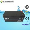 Bluesun ISO CE ROHS Certificate 12v 200ah battery for solar panel