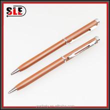 Metal Coffee Ballpoint Pen Gift Box Fisher Space Pen Metal Body