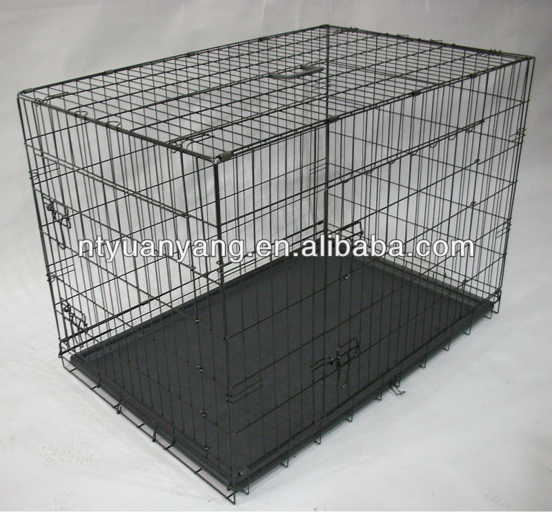 high quality hotseller in USA wire dog cage pet kennel in pink color