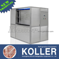 Koller companies production 3tons plate ice pop making machinery with r22a for fishing