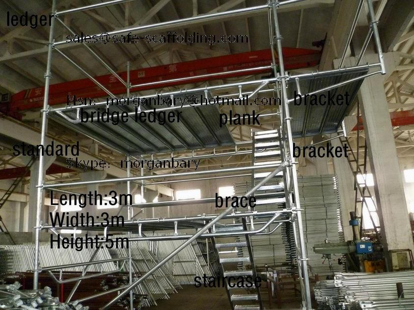 Types Of Portable Scaffolding : Safe sgs scaffold catalogue buy scaffolding for sale