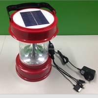 solar camping lantern with mobile charge (SH-ST03AC)