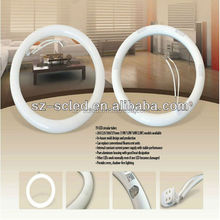 Cool White Color Temperature(CCT) and Tube Lights Item Type T9 g10q 14W 225mm led circle ring light