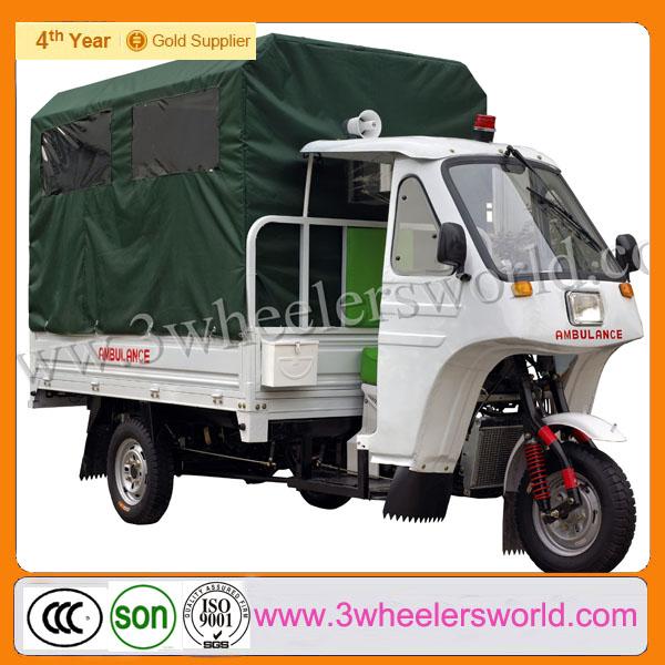 2013 Gasolina Venta caliente usado triciclo motorizado Ambulancia en venta