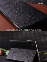 Factory !! PU leather case ,luxuri bling diamond filp leather case ,Ultrathin Bling Diamond Leather Case For iPad Mini Luxury Le