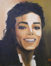 Decorative wall stencil hand painted michael jackson oil painting canvas wall art for home decor wall decoraction