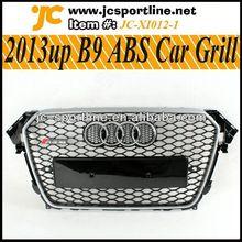 2013 auto del coche de la parrilla a4 b9 rs4 de parachoques delantero parrilla parrilla para audi B9 rejilla de la parrilla