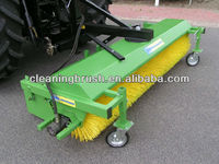 street sweeper cleaning brush