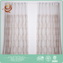Home decor Woven Elegant Polyester curtain embroidery design