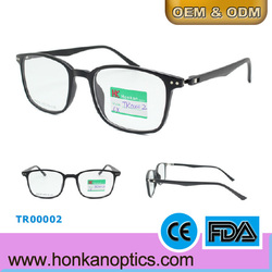 2015 Fashionable design glasses TR90 frame