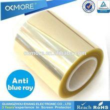 China supplier HD 4H PET anti-blue light screen ward material roll