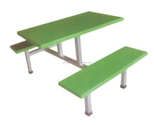 hot sale canteen furniture used for student canteen table and chair CT-023D