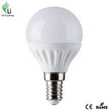 2015 new trend !Glass cover 2835 smd ceramic heat sink 5w led bulb led