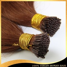Hot Selling Pre-Bonded i Tip Orange Hair Extension