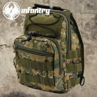 Infantry Amy Fashion Sport Camouflage Messenger Chest Shoulder Bags School Work Rucksacks Pack NEW Backpacks
