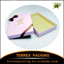 High quality simple and fashionable paper boxes for cloth/gift/food