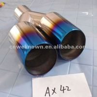 Universal Auto Stainless Steel Muffler, Exhaust Pipe