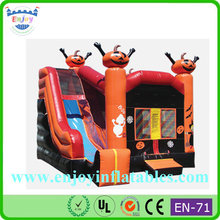 party festival halloween air blown inflatables, jumping bouncing bouncer, air bouncer jumping castle