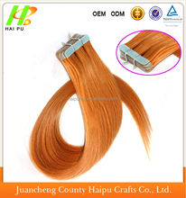 Best selling in America Peruvian remy human hair cheap 30 inch remy tape hair extensions
