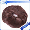 Wholesale prices hair bun for black women, best selling black synthetic hair bun, top kanekalon hair bun