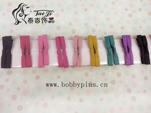 Korean style hot selling handmade polka dot hair clip