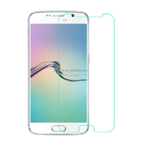 Wholesale mobile Phone accessories for Samsung galaxy s6 screen protector 0.26mm 9H tempered glass screen protector