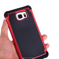 Football patterns 3 in 1 Silicone +PC + TPU mobile case for Samsung galaxy note 5 case