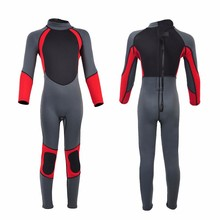 High quanlity Neoprene beautifull long sleeve wetsuit neoprene diving wet suit for diving surfing with hood
