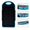Hottest sale provite/OEM dual-USB Waterproof IP6 12000mah travel Solar power tech plus battery charger for mobile phone