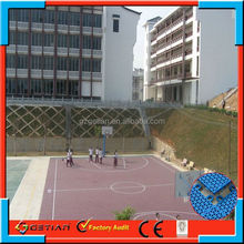 customized color price court floor basket ball professional