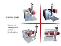 High speed 20w color fiber laser marking machine for metal/jewelry/stainless steel