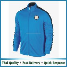 Inter de milão azul jacket equipa de futebol