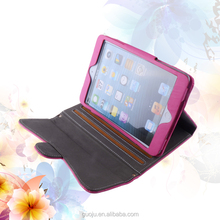 new design fashion lady handbag wallet leather case for ipad mini case