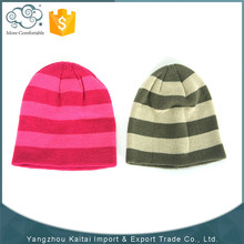 2015 Promotion wholesale custom cheap women fashion beanie knitted hat/knit hat