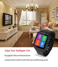 China supplier remote tv air conditional/set top box Bluetooth Smart Wrist U8 Watch phone for IOS Android Sam/sun iPhone HTC LG