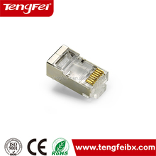 Excellent quality wholesale cat6a sftp crystal plug rj45