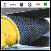 professional manufacturer promotion 6mm-12mm thickness Pulley lagging Rubber sheet /diamond rubber floor mat