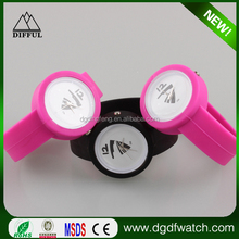 Paypal accepeted new Slap nurse watches snap silicone watches applauded the new circle of jelly