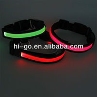 2014 pet novelty items led electric collar for dogs price