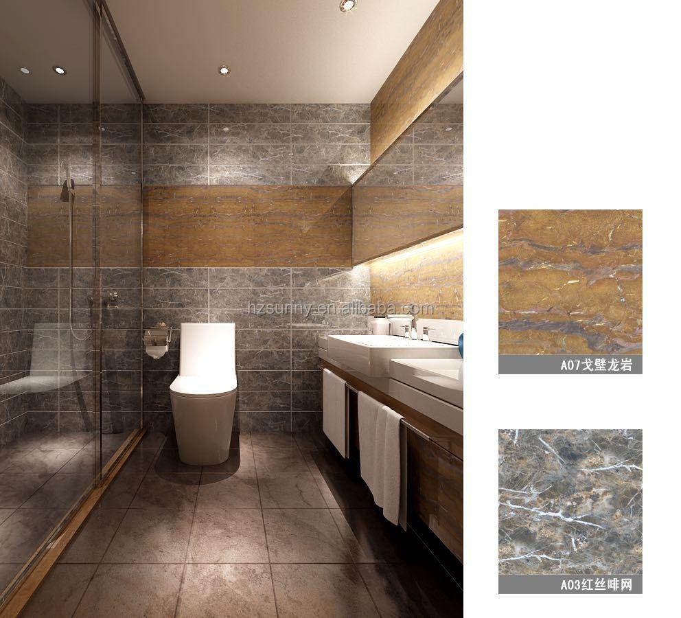 Pvc marmeren stenen muur panelen kunstmatige steen product id ...