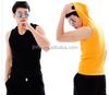 2015 Custom plain gym tank tops plain white vest tops for men