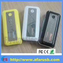 Factory competitive price 5200mAh jewel portable mobile power bank
