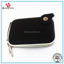 PU surface mini camera case power bank carry bag MP3/MP4 bag