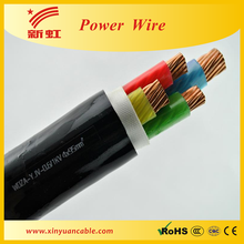 600/1000V 4 Core XLPE insulation and PVC sheathed armoured cable /electric cable rates