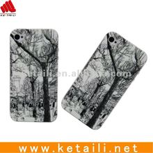 Fashion Silicone phone case for iphone 4G/4s
