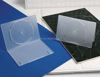 Frosty Clear Slim Plastic 7mm DVD case for single disc