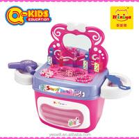 Q-KIDS 2015 Niniya plastic toy girls makeup mirror set for sale