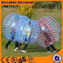 Crazy best selling bubble ball for football