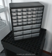 delicate Large drawers plastic storage boxes/storage